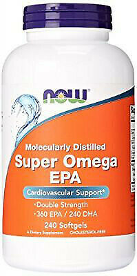 (240g, 14,50 EUR/100g) NOW Foods Super Omega EPA Molecularly Distilled - 240 so
