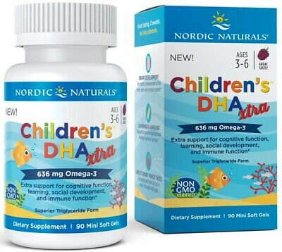 (90g, 27,90 EUR/100g) Nordic Naturals Children's DHA Xtra, 636mg Berry Punch -