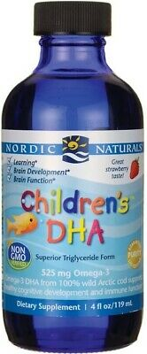 (237ml, 13,16 EUR/100ml) Nordic Naturals Children's DHA, Strawberry - 237 ml.