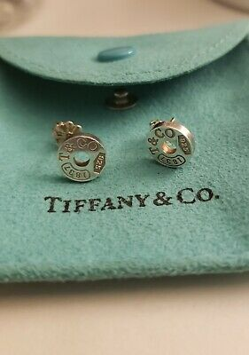 Tiffany & Co 1837 Circle Earrings pre-loved authentic