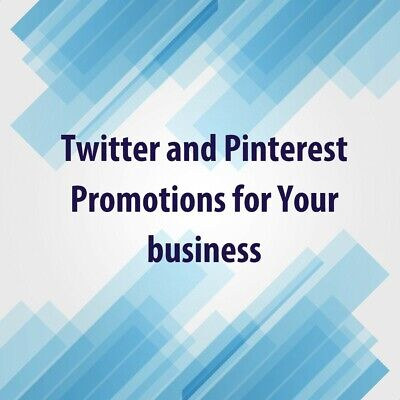 PROMOTE business / website traffic marketing 10 TWEETS & PINS social media