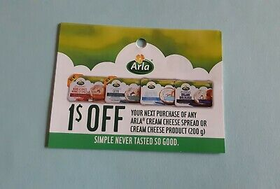 10x$1.00 off arla cream cheese spread or cream cheese products