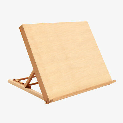 Portable Folding Artist Wood Table Easel Stand Painting Art Board Display CA