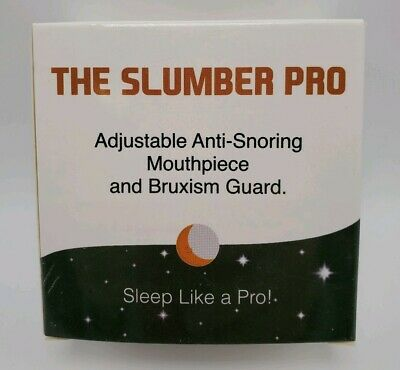 The Slumber Pro Adjustable Anti Snoring Mouthpiece And Bruxism Guard