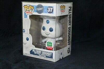 Funko Pop! Ad Icons Pillsbury Doughboy #37 Funko Shop Exclusive W/ Protector