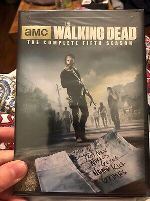 The Walking Dead: Season 5 (DVD, 2015, 5-Disc Set) New Sealed Free Shipping