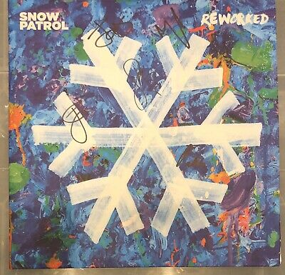 Snow Patrol - Reworked Double vinyl Gatefold LP NEW HAND SIGNED BY BAND