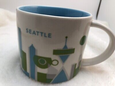 Starbucks You Are Here Mug SEATTLE 2015