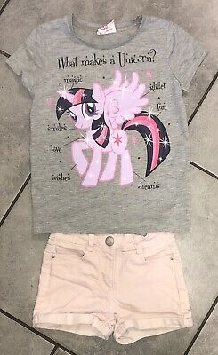 My Little Pony Girls Summer Outfit 6-7 Y