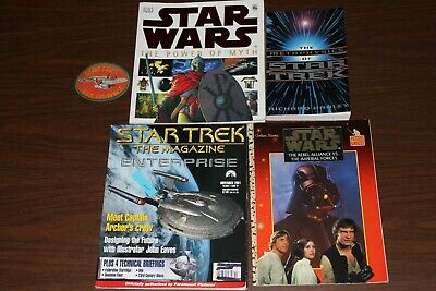 Star Wars and Star Trek Collectible Paper Backs