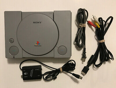 Sony PlayStation 1 Gray Replacement Console (SCPH-5501), No Controller, Tested!