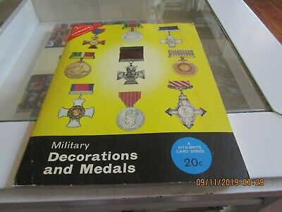 Vita-Brits Card Album. Military Decorations And Medals. Collectables.