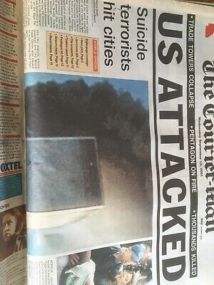 Trade Towers Attacked Courier Mail September 12 Edition