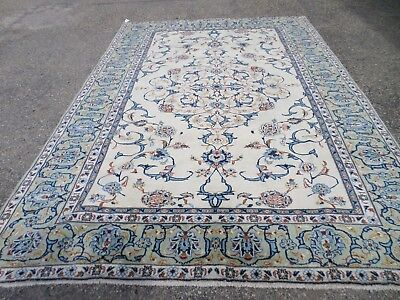 """Super Hand Knotted Oriental Rug 1005 Wool Pile 7' 1"""" X 10' 7""""   Sku #P11805"""