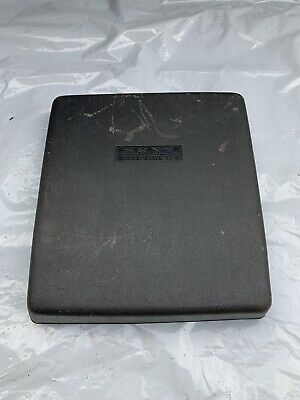 SCREEN COVER for VINTAGE B&W SONY PORTABLE TV 1960's - USED