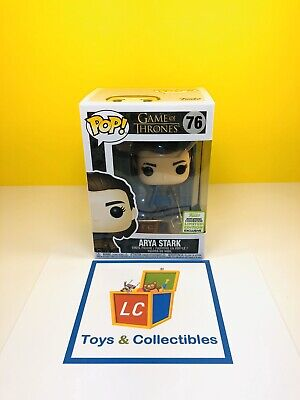 Funko POP - TV - Game of Thrones - Arya Stark #76 - 2019 ECCC - FREE Shipping