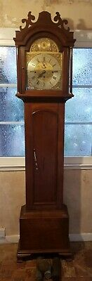 Musical W Halliwell, Chorley 8 Bells chime Grandfather Clock