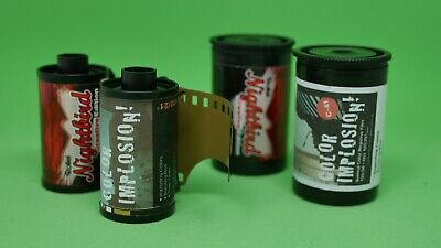 Rollei Colour Implosion! + Nighthawk Creative Edition 35mm  film Expired 2016