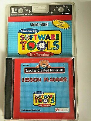 Teacher's Lesson Planner CD-ROM | Windows & Mac | COMBINED POSTAGE AVAILABLE