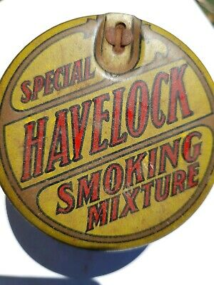 HAVELOCK Special SMOKING MIXTURE Full Strength Tobacco tin  by B.A.T. Melbourne