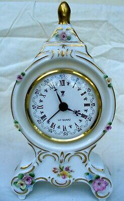 Dresden Porcelain Clock - Made in Germany