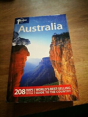 Lonely planet Australia, used once!