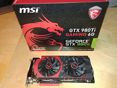 MSI GeForce GTX 980TI GAMING 6G (6GB)