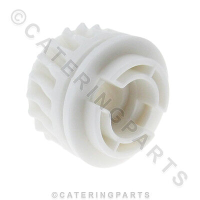 Pizza Group 3203410 White Plastic Pinnion Front Cog For Dough Roller Stretcher