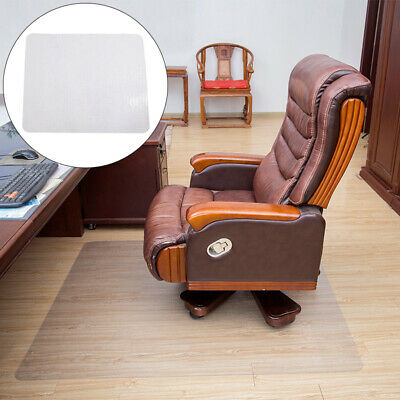 PVC Rectangle Home Office Chair Floor Pad Mat Protective Film Cushion Carpet Hot