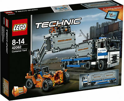 LEGO 42062 Technic *2-in-1*  Container Yard (Brand New and Factory Sealed)