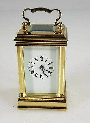 Miniature A C G Antique Carriage Clock