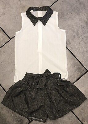 Shij Girls Shorts Outfit 4-5 Y Vgc