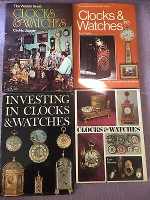 Clocks & Watches Horology Horological Collection Joblot Job Lot Books Timepieces
