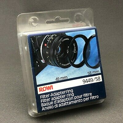 ROWI  49 to 58 filter adapter ring