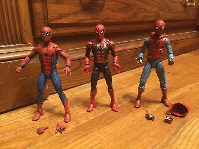 Marvel Legends Homecoming Spider-Man Iron, Homemade And Classic Suit