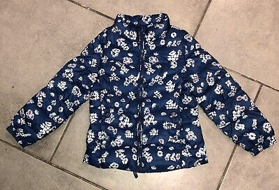 Zara Girls Floral Coat 5-6 Y (for 116cm/5y) Vgc