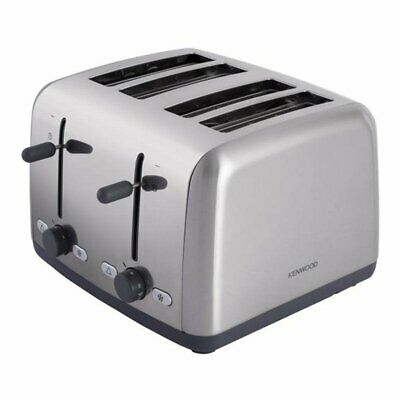 Kenwood TTM480 Scene 1800W 4 Slice Toaster with Defrost Function-Stainless Steel