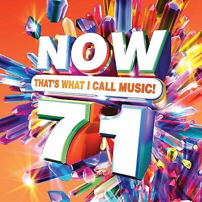 Now 71: That's What I Call Music Cd - Various Artists (2019) - New Unopened