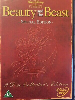 Beauty And The Beast (DVD, 2002)