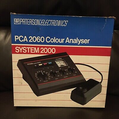 Paterson PCA 2060 Colour Analyser - Darkroom Accessory. Good Working Order