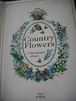 Country Flowers - A Photograph Album - Good Condition