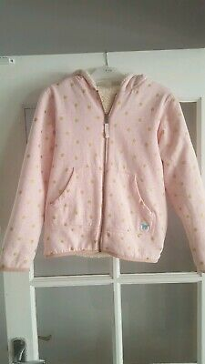 Mini Boden Girls Reversible Shaggy Fleece 11-12 Yrs