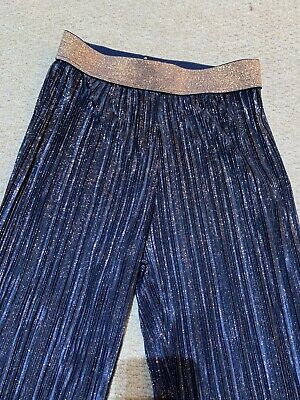 Ted Baker Girls Sparkly Trousers Age 10