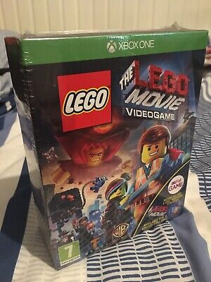LIMITED EDITION Xbox One The LEGO Movie Videogame inc Blu-ray movie/Figurine