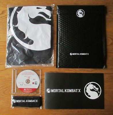 Mortal Kombat X  European Press Kit & Promo Game & Extras – PS4 / PlayStation 4