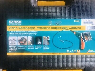 Extech Video Borescope/Wireless Inspection Camera #BR250