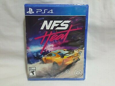 NEW NFS Heat Playstation 4 Game SEALED PS4 Need For Speed Heat Racing ea US NTSC