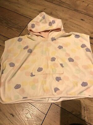 Mamas And Papas Swimming Poncho/towel Age 12-18 Months Excellent Condition