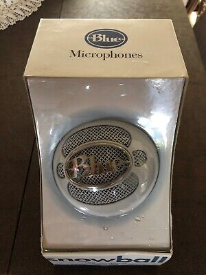 OPEN BOX Blue Microphones Snowball White USB Microphone