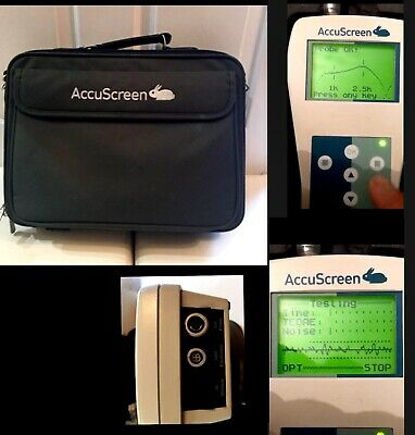 Madsen Accuscreen Hearing Audiometer With ABR and ear Probe.